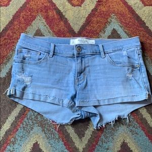 Abercrombie and Fitch jeans shorts size 6/28